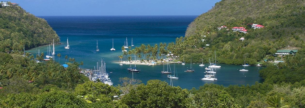 St Lucia yacht charter